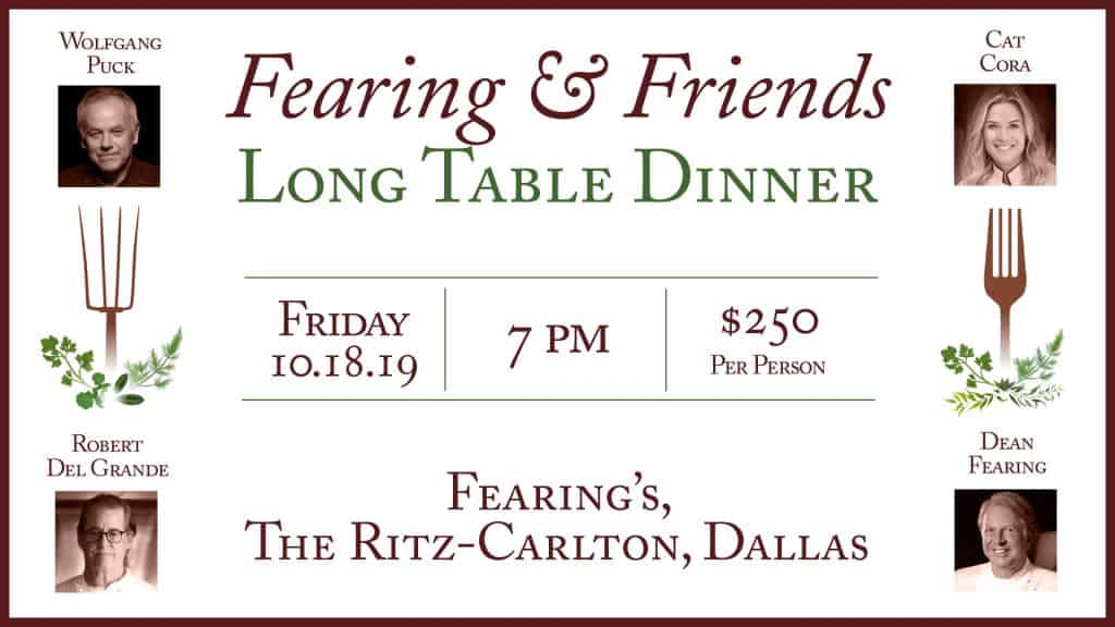 Fearing's & Friends Long Table Dinner